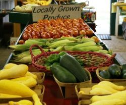 Locally Grown Produce Vegetables