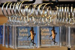 Suffolk Virginia Planters Peanut Icon Keychains