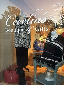 Exterior of Cecelia's Boutique & Gifts