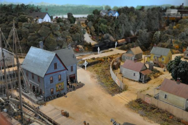 Suffolk Model at Seaboard Station Railroad Museum